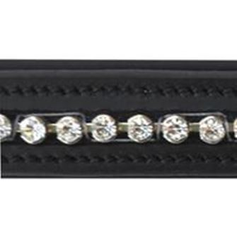 JHL Large Round Clear Diamonte Browband