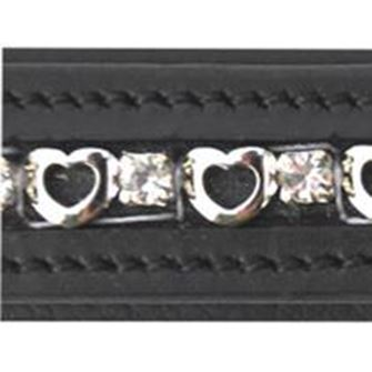 JHL Heart & Diamonte Browband