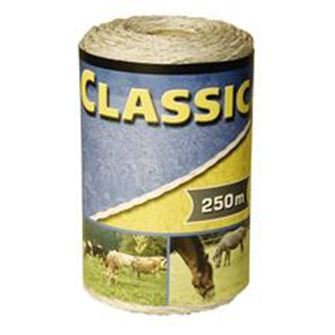 Classic Fencing Polywire 250m (White)