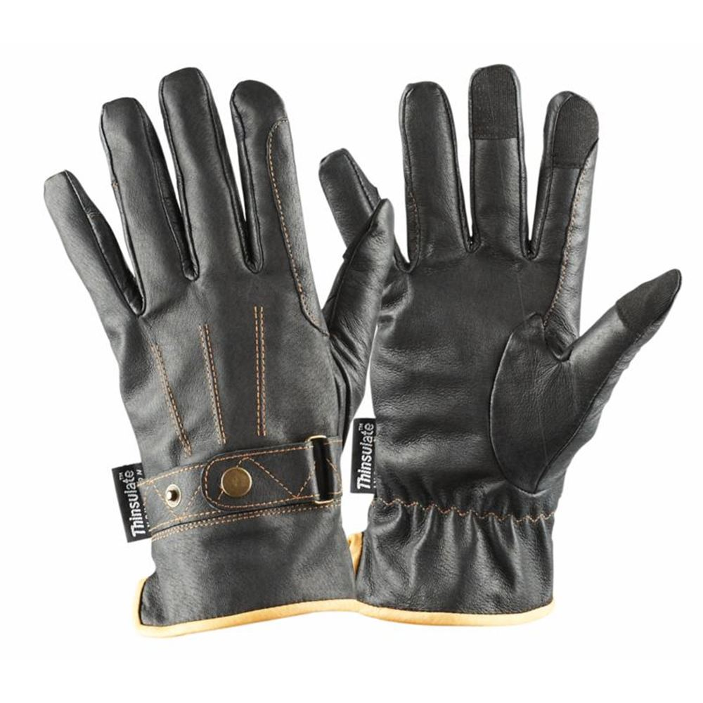Dublin Leather Winter Gloves with Thinsulate