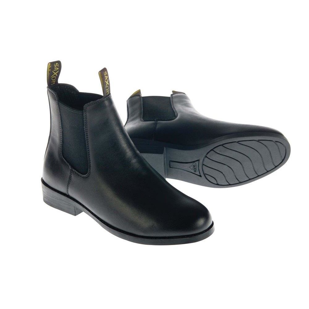 Saxon Equileather Jodhpur Boots (sizes C9 - UK 5)