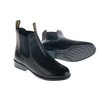 Saxon Equileather Jodhpur Boots (sizes C9 - UK 4)