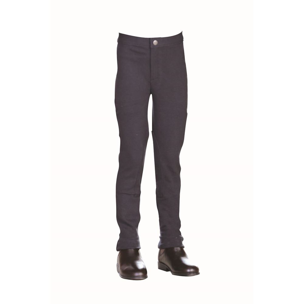 Saxon Warm Up Cotton Stretch Childrens Jodhpurs