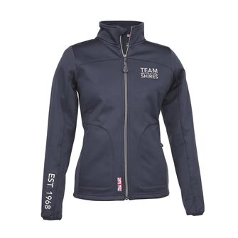 Shires Ladies Team Softshell Fleece