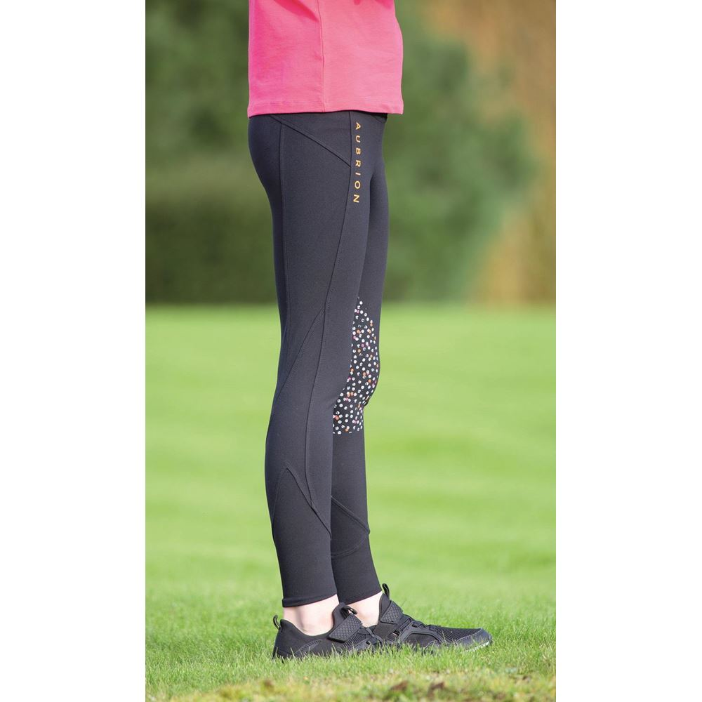 Shires Aubrion Bassie Maids Riding Tights