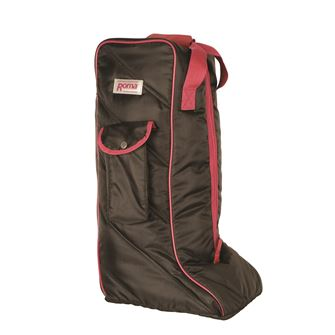 Roma Nylon Long Boot Bag