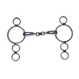 JP Korsteel French Link Dutch Gag 3 Ring