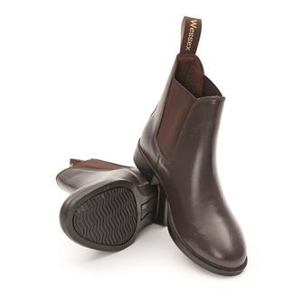 Shires Children's Wessex Leather Jodhpur Boots