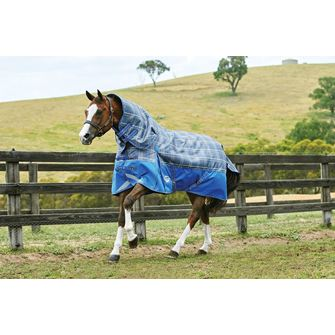 Weatherbeeta ComFitec Premier Trio Detach-A-Neck Medium Turnout Rug and 200g Liner *Special Offer*
