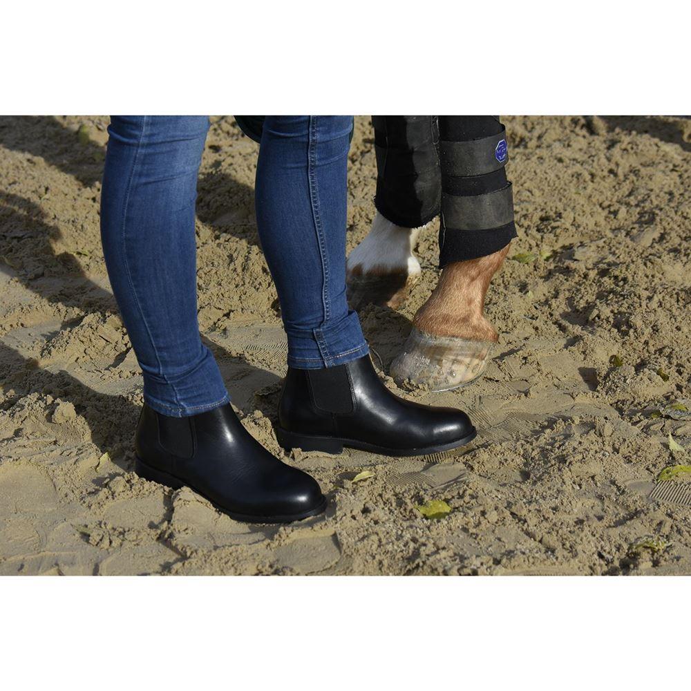 Tuffa Spartan Steel Toe Safety Riding Boots