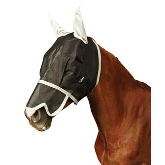 Roma Buzz Away Fly Mask With Nose & Ears