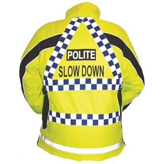 Equisafety Polite Aspey High Visibility Riding Jacket