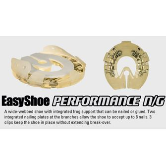 EasyShoe Performance N/G (Glue or Nail On) Horseshoes (pair)