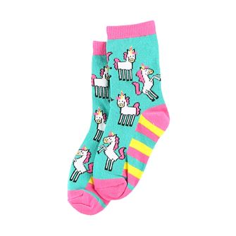 LazyOne Girls Unicorn Kids Socks