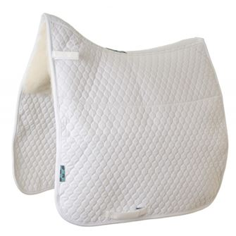 Griffin Nuumed Gullet Free HiWither Half Wool Dressage Saddlepad