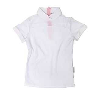 Horseware Emma Girls Pique Short Sleeve Competition Shirt