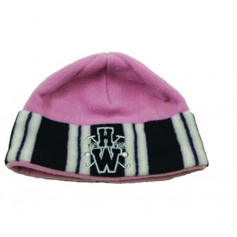 Horseware Fleece Hat with Stripe Edge