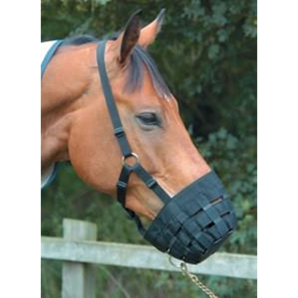Jumpers Horse Line Comfort Grazing Muzzle