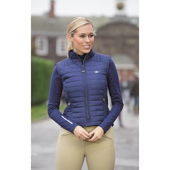 Shires Ladies Munich Quilted Waistcoat