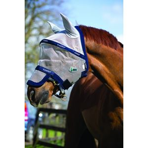 Horseware Ireland Rambo Plus Fly Mask with Vamoose