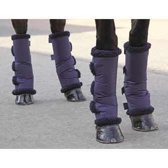 Shires Fleece Lined Travel Boots