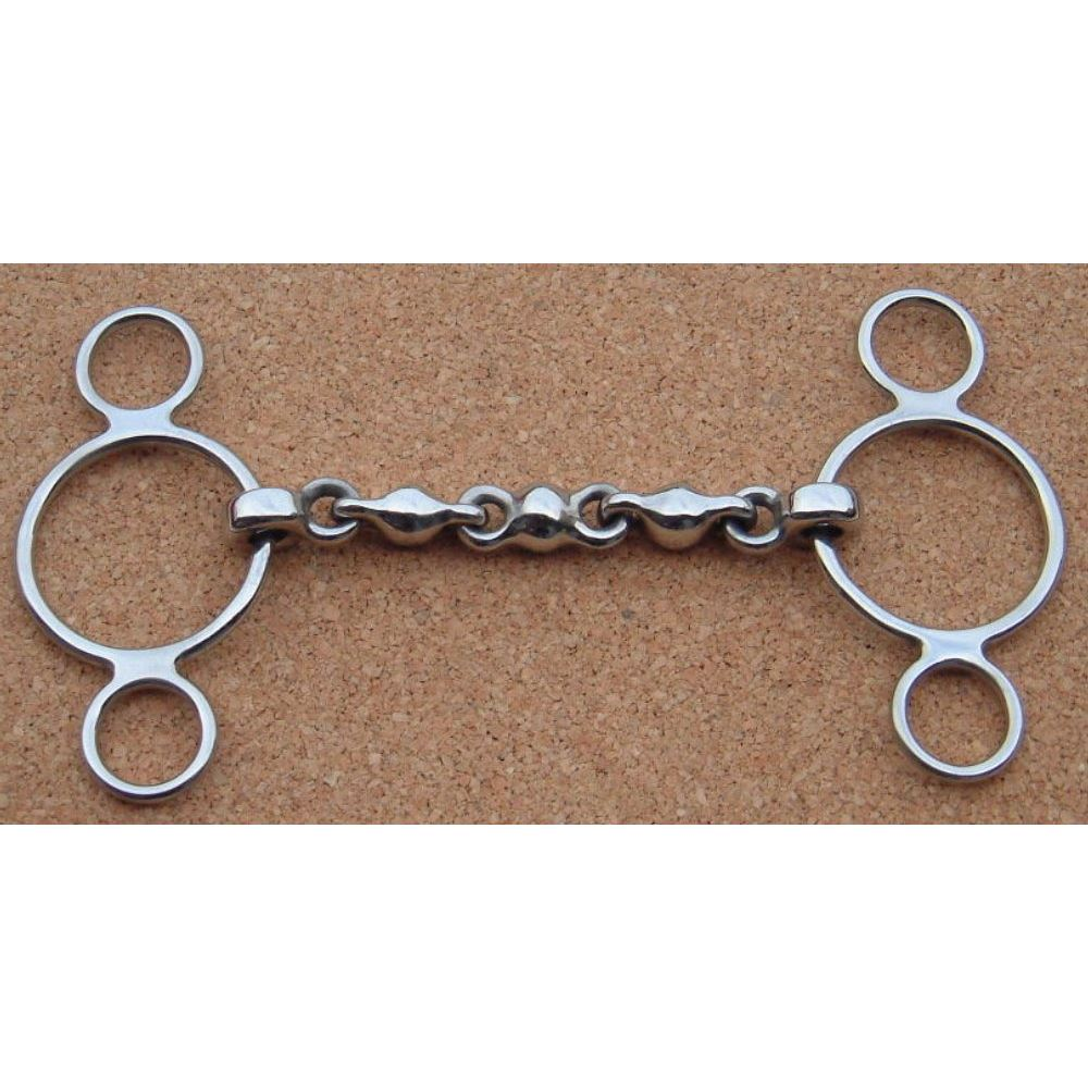 3 Ring Continental Waterford Snaffle