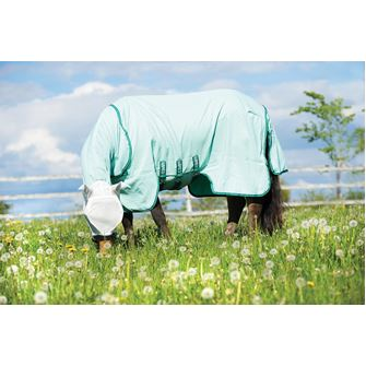 Horseware Rambo Sweet Itch Hoody Pony + Free Fly Mask