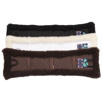 "Griffin NuuMed Dressage Girth Sleeve with Luxury Wool 24"" & 26"""