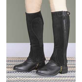 Shires Moretta Childs Suede Half Chaps