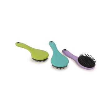 Shires Ezi-Groom Grip Contour Mane & Tail Brush