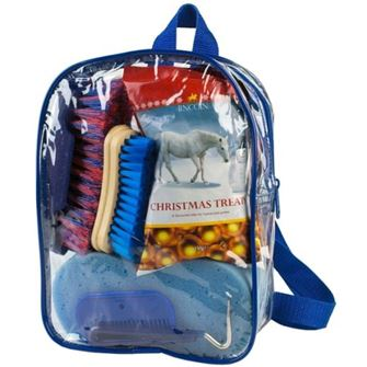 Lincoln Christmas Horse and Pony Treat and Grooming Bag