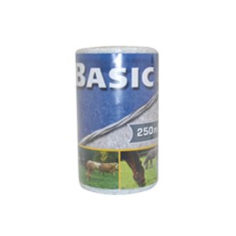 Basic Fencing Polywire 250m (White)