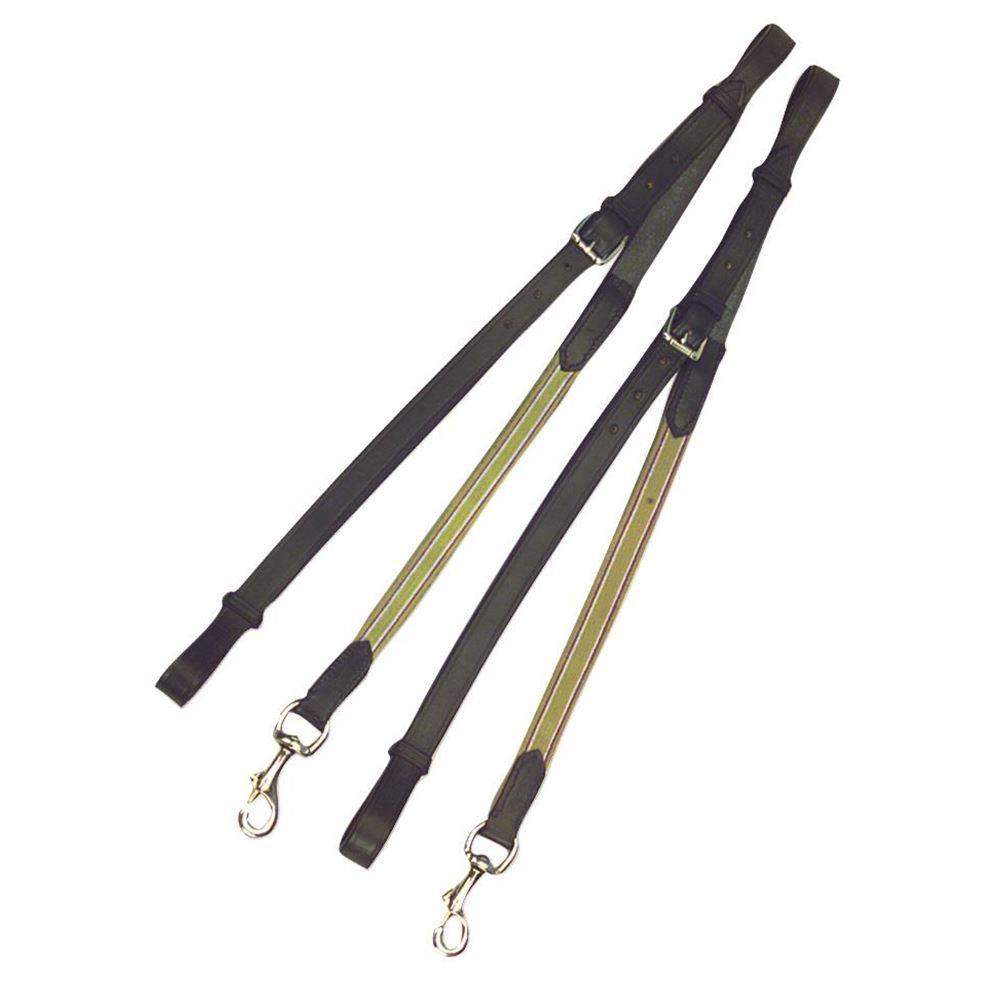 Kincade Leather Elastic Side Reins