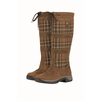 Dublin River Plaid Boots