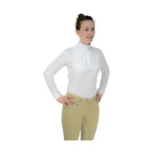 HyFASHION Ladies Sandringham Long Sleeved Stock Shirt