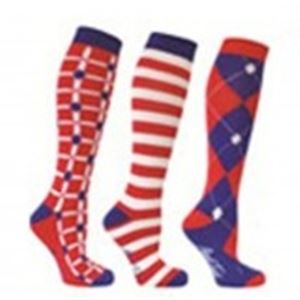 Mark Todd Long Horse Riding Socks Pack of 3