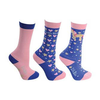 Little Rider Star in Show Socks (Pack of three)