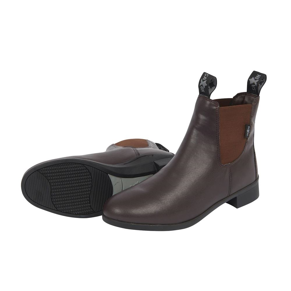 Saxon Adults Syntovia Jodhpur Boots