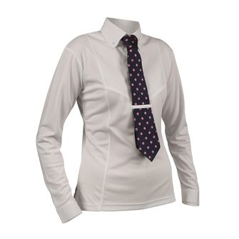 Shires Aubrion Ladies Long Sleeve Tie Shirt *Special Offer*