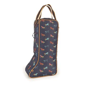 Shires Printed Long Boot Bag