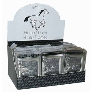 Horse and Pony Photo Frame with Charm