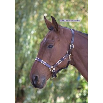 Shires Blenheim Leather Polo Headcollar