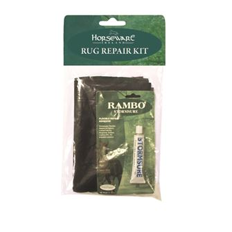 Horseware Ireland Rambo Stormsure Rug Repair Kit- Glue + Patches