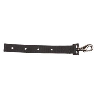 Weatherbeeta Clip & D Gunmetal Chest Strap