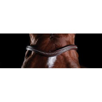 Collegiate Comfitec Replacement Browband for Sheepskin Bridle