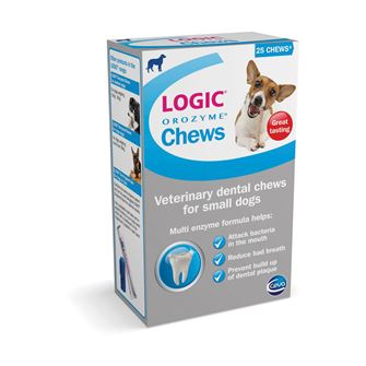 Logic Orozyme Chews 25 Chews - Small Dog