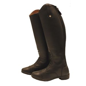 Horseware Leather Long Field Boots - Regular