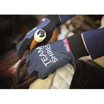 Team Shires Riding Gloves