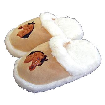 Grays Childrens Horse Head Slippers
