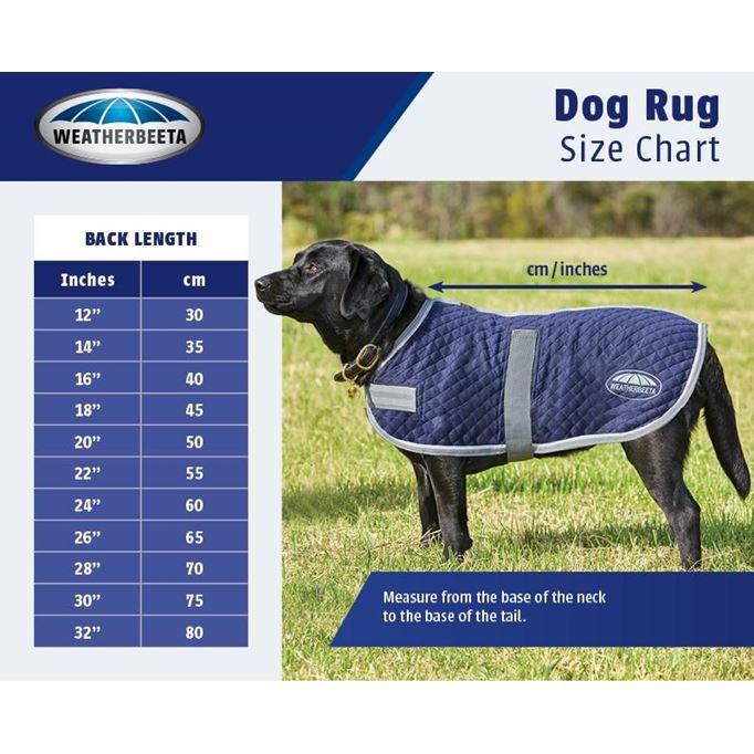 Weatherbeeta Fleece Dog Rug: Weatherbeeta Fleece With Zip Dog Coat